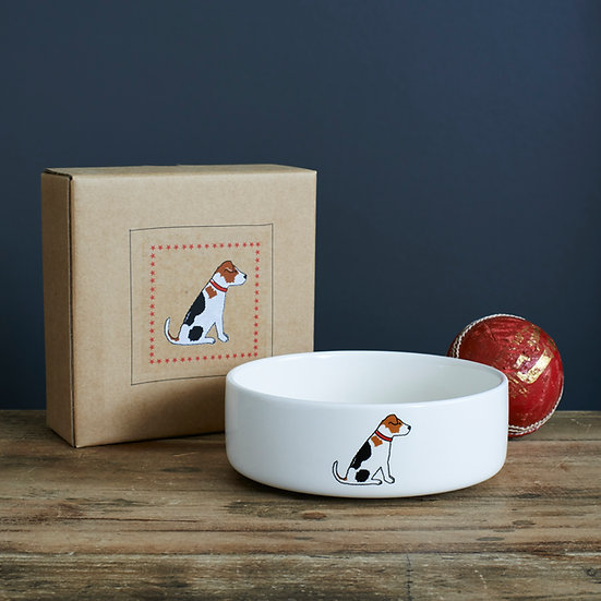 Hundenapf Jack Russell  | Sweet William Designs