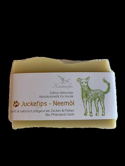 Hundeseife Juckefips - mit Neemöl & Schwarzkümmelöl | Küstenseifen