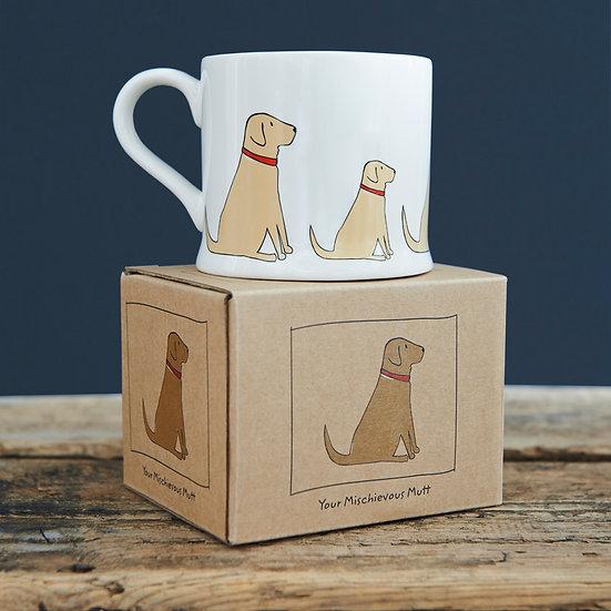 Hundetasse Gelber Labrador  | Sweet William Designs