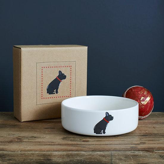 Hundenapf Französische Bulldogge  | Sweet William Designs