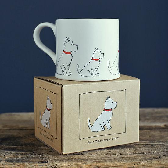 Hundetasse Westie  | Sweet William Designs