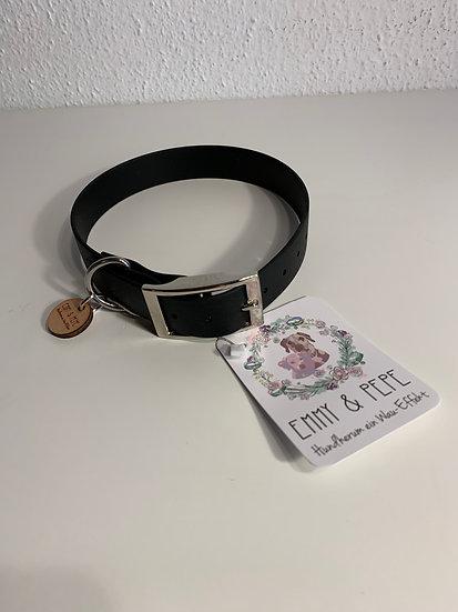 Biothane Halsband Costello, schwarz | Emmy & Pepe, ab 23,95€