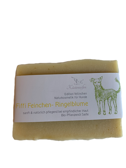 Hundeseife Fiffi Feinchen-Ringelblume | Küstenseifen