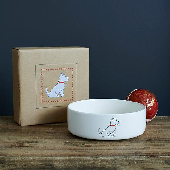 Hundenapf Westie  | Sweet William Designs