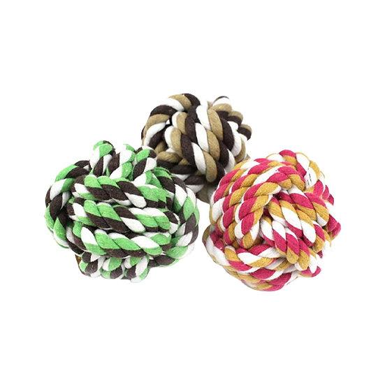 Tauspielzeug Baumwollseil-Ball | Swaggin Tails
