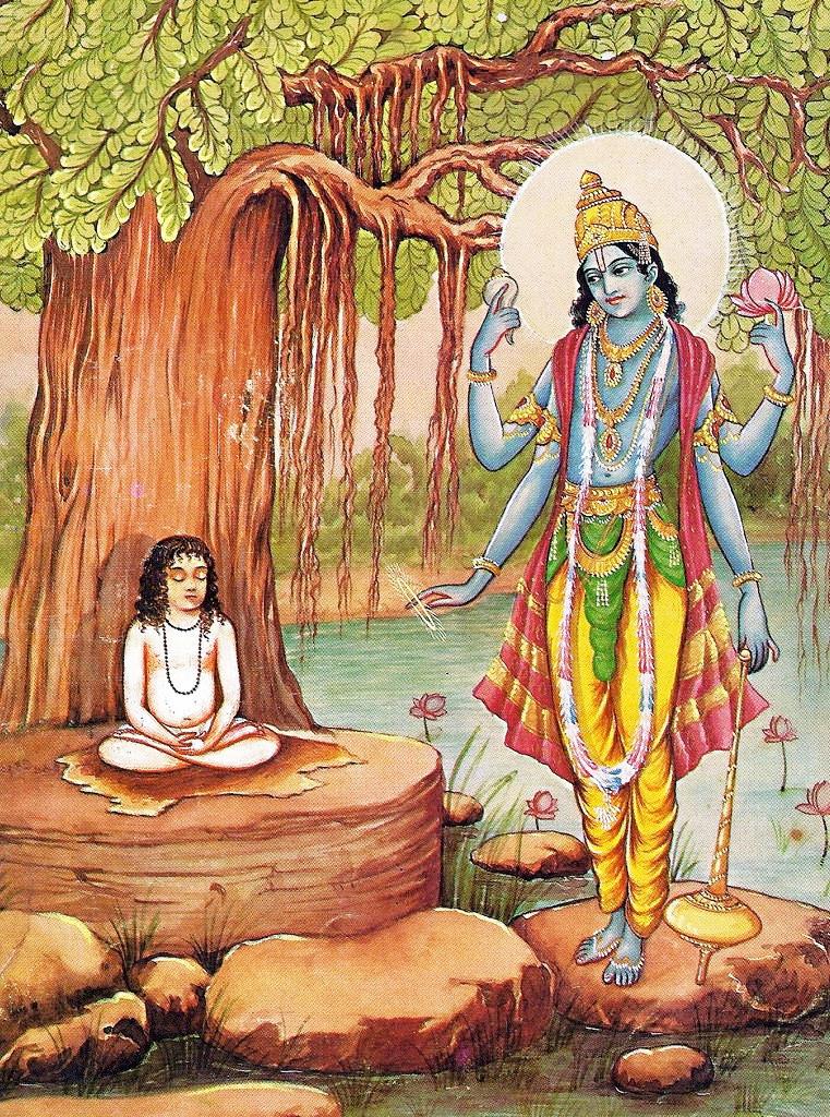 Vishnu y Prahlad