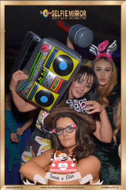 photo booth hire, selfie mirror hire