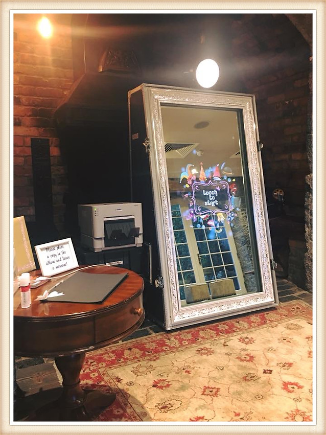 Photo booth hire, Selfie Mirror Hire Ireland, Event Occasions