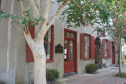 Catfish Row, one of the stops on our Charleston walking tours