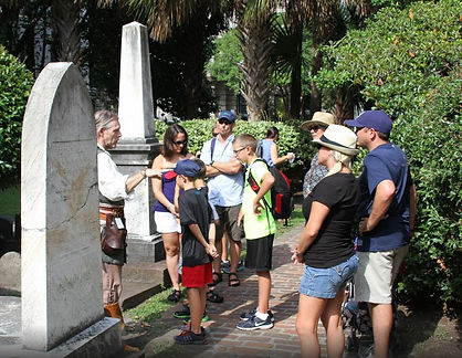 Private tours are perfect for families in Charleston on vacation