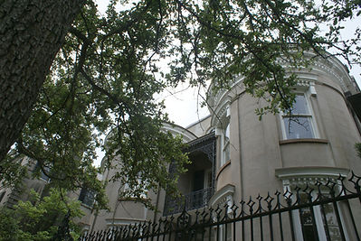 Charleston architecture on walking tour
