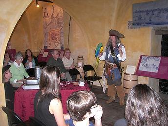 Speaking engagement at the Powder Magazine in Charleston