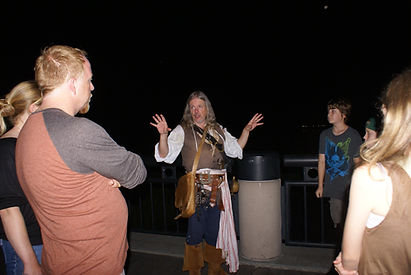 Charleston Ghost Tour with a Pirate