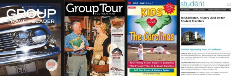 Group travel publications recommend Charleston Pirate Tours