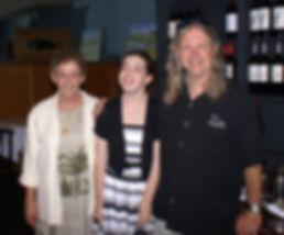 Eric, Sabrina, and Ariel Lavender of Charleston Pirate Tours