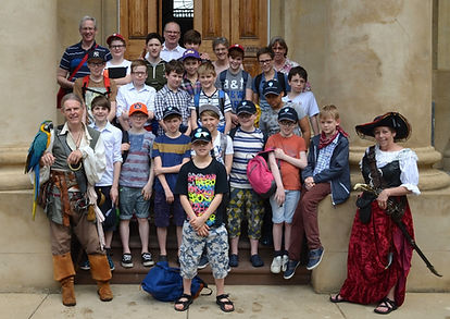 Charleston group tour with Canterbery Choir from England