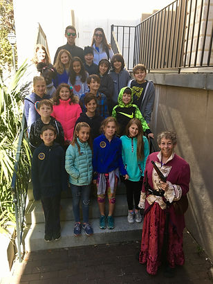School field trip tour with Charleston Pirate Tours