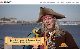 Charleston Pirate Tours on NBC Today Show - TV appearances