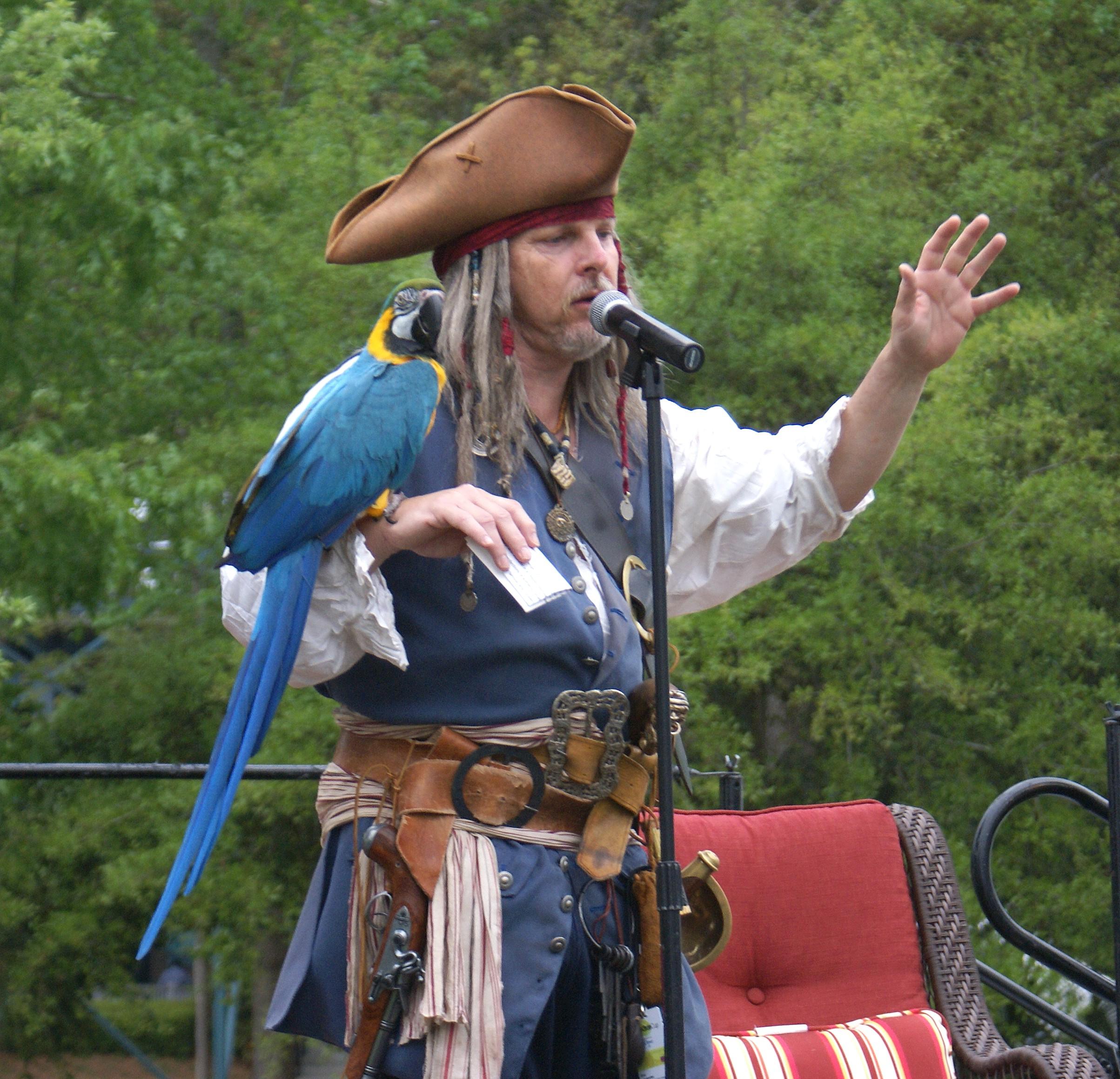 Eric of Charleston Pirate Tours
