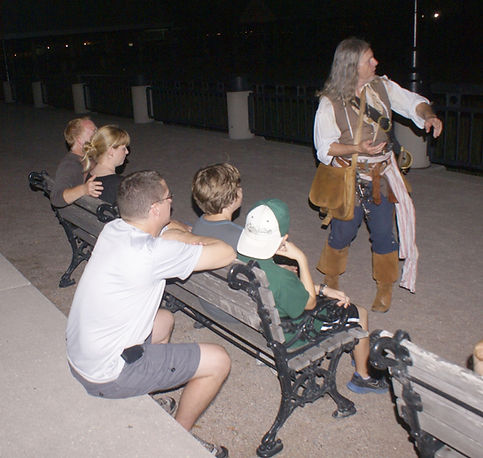 Charleston Ghost Tour with Charleston Pirate Tours