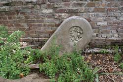 Gravestone at Charleston's First Baptist Church