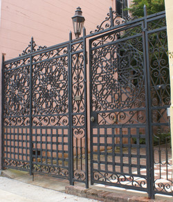 Iron gate In charleston