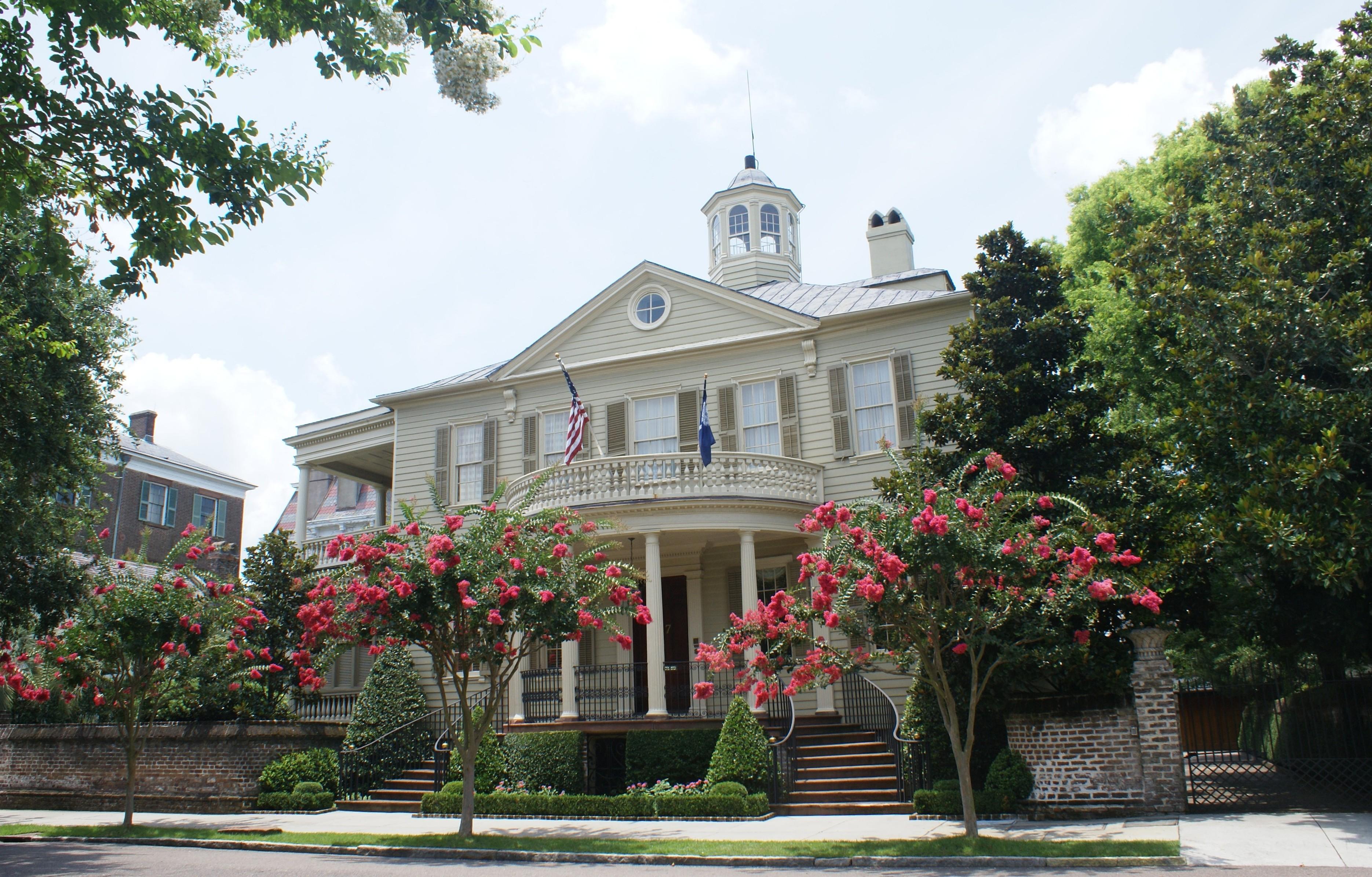 Mansion in Charleston at 7 Meeting Street