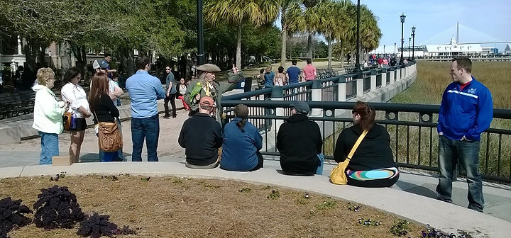 Charleston Pirate Tour at Waterfront Park