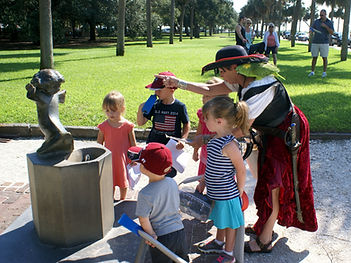 Charleston's only tour for children