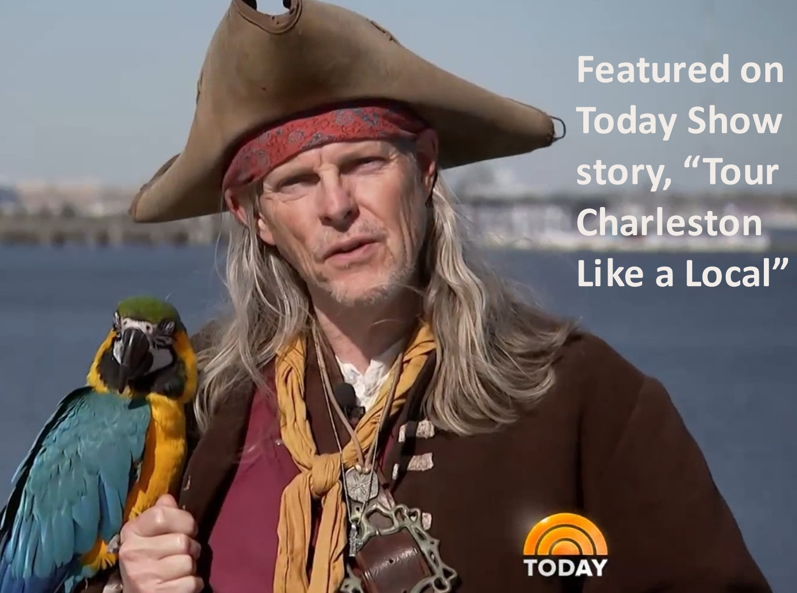 NBC Today Show features Charleston Pirate Tours