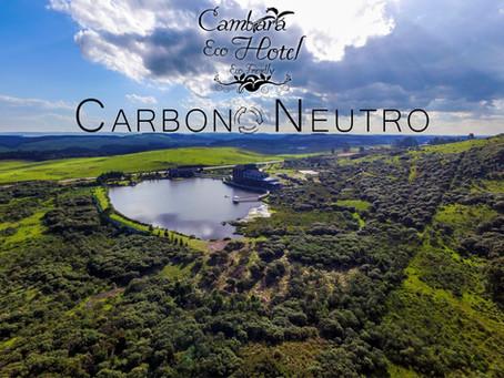 Cambará Eco Hotel é Empresa Carbono Neutro