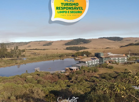 Cambará Eco Hotel adere ao Selo Turismo Responsável