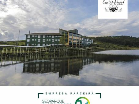 Cambará Eco Hotel é uma empresa parceira do projeto Geoparque Cânions do Sul