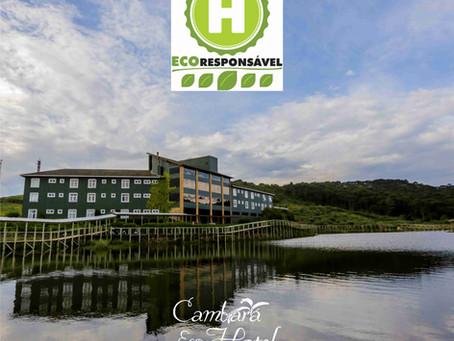 Cambará Eco Hotel inicia 2021 com nova certificação!