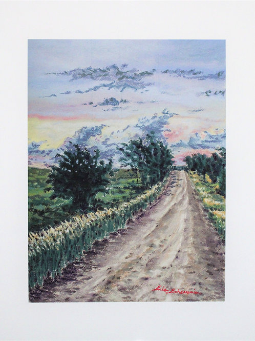 The Road North:  Giclee Print