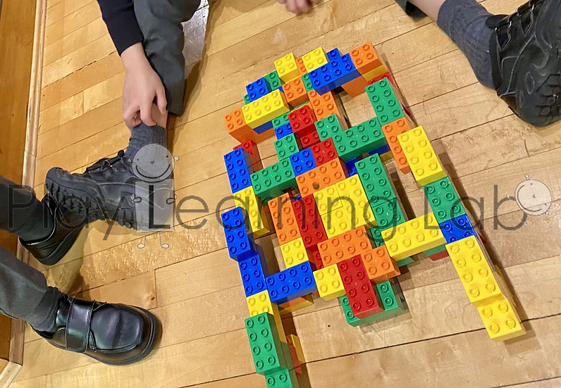 Collaborative Building with LEGO