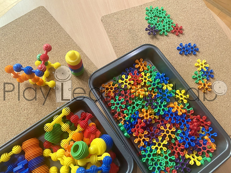 Building With Connecting Toys