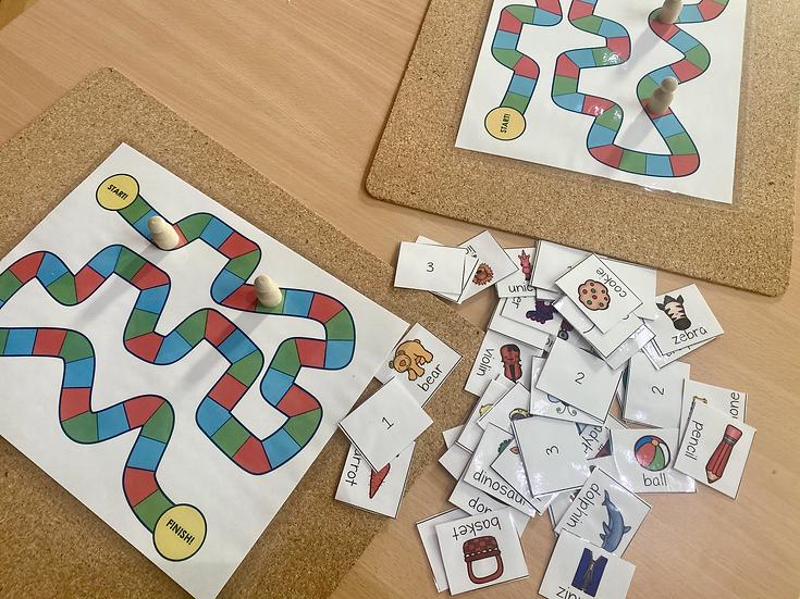 Syllable Board Game