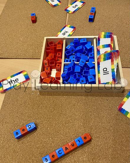 Link Cube Spelling
