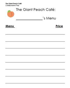 The Giant Peach Cafe
