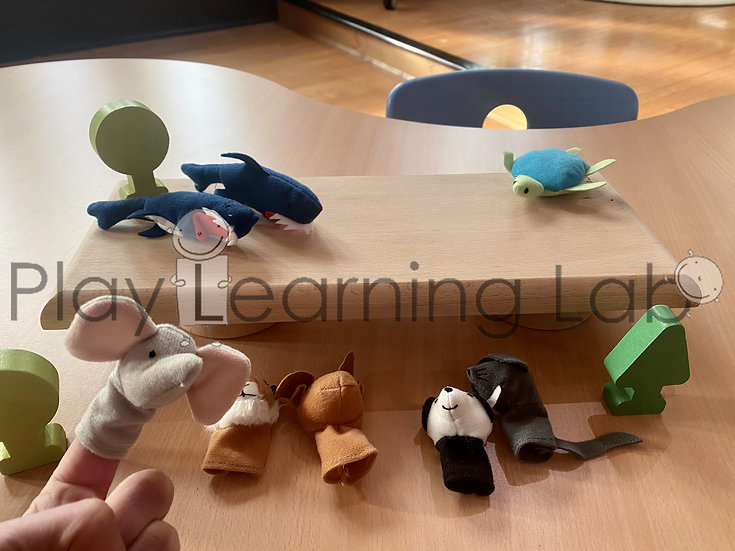 Finger Puppet Free Play