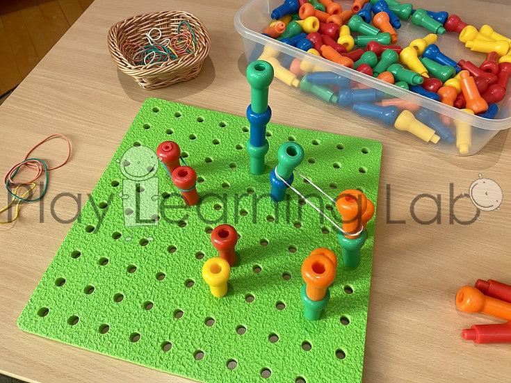 Peg Board Patterning