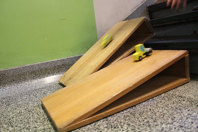 ramp and toy car