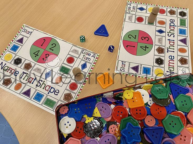 Shape Finder Board Game
