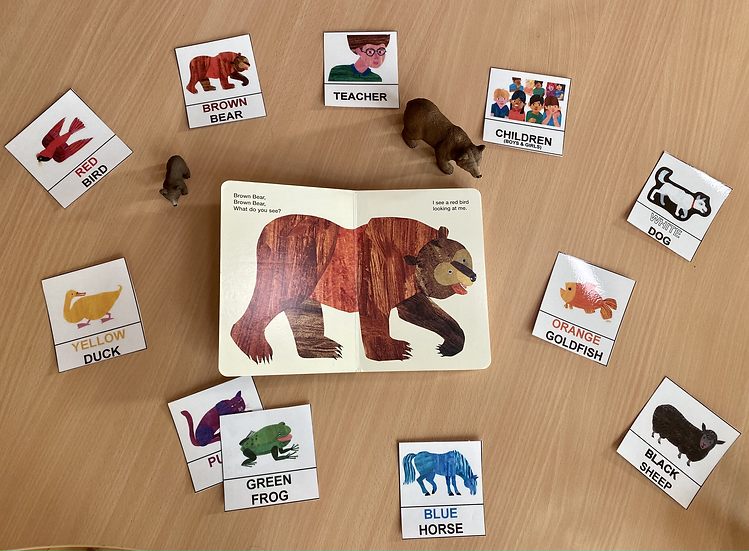 Brown Bear Brown Bear, What do you see? By Eric Carle