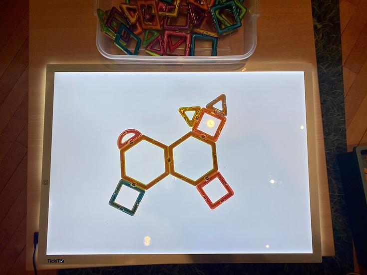 Light Table Shapes
