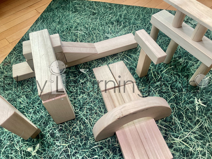 Building With Stacking Blocks