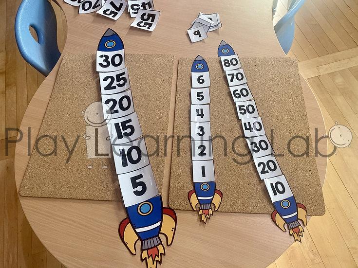 Rocket Number Puzzle