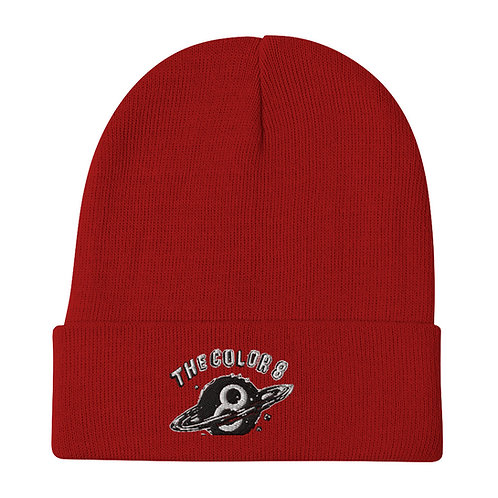 8Planet Embroidered Beanie