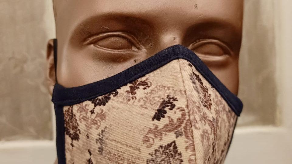 Digital printed graphic mask